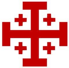 La croce di Gerusalemme