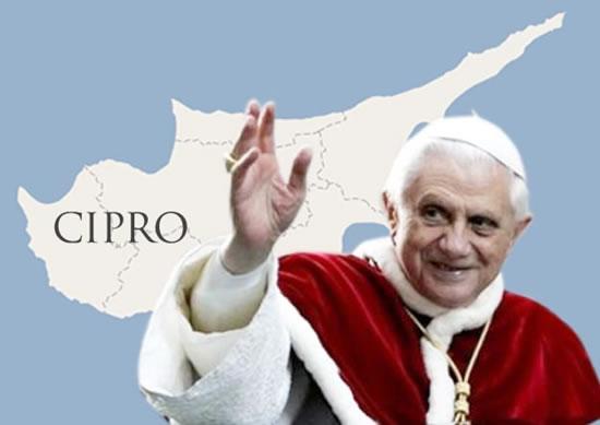 Cipro papal visit