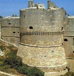 Il castello di Otranto, ultima difesa degli Otrantini nell'assalto turco dell'estate 1480