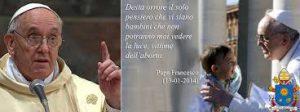 LA GIORNATA PER LA VITA IN UNA PARROCCHIA ITALIANA (di Sara Deodati)