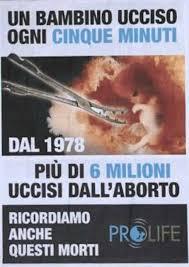 ABORTO: NON DIMENTICHIAMO LA STRAGE